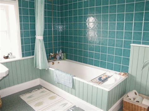 white and turquoise bathroom photo of turquoise white bathroom with bath ideas