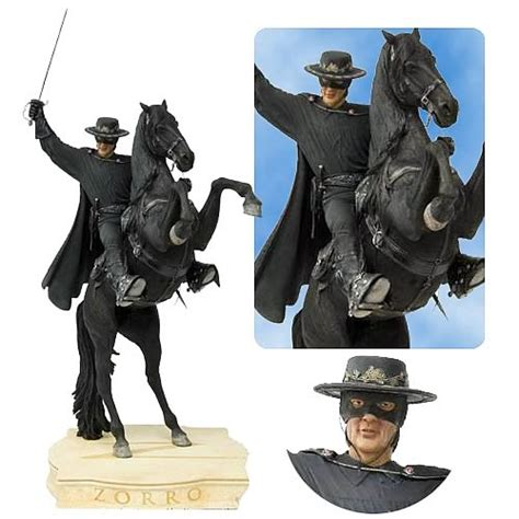 Figure Zorro The zorro on tornado statue zorro statues at