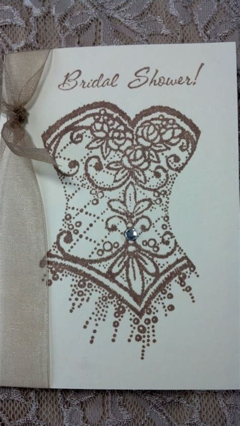 Handmade Bridal Shower Cards - 48 best images about handmade bridal shower invitations on