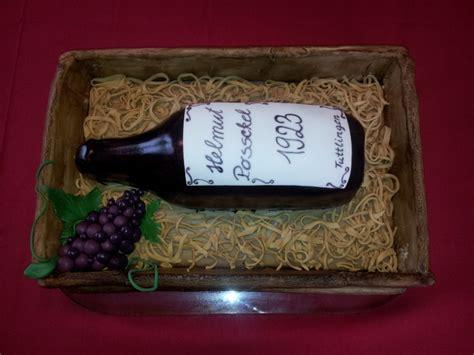 kuchen flaschenform geburtstag erwachsene 187 weinflasche in kiste zum 90