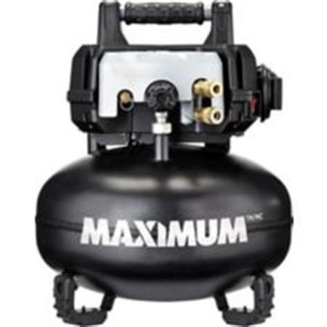 maximum 6 gallon pancake air compressor canadian tire