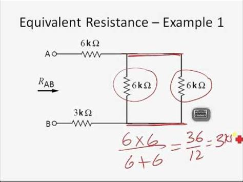 what is the equivalent resistance of the resistor network finding equivalent resistance