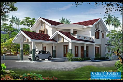 green homes 4bhk kerala home design 2550 sq