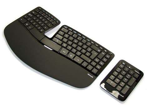 Keyboard Microsoft wireless sculpt ergonomic desktop kbc 5261 the keyboard company