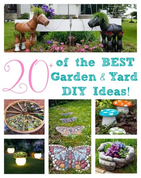 diy craft projects for the yard and garden the best garden ideas and diy yard projects kitchen