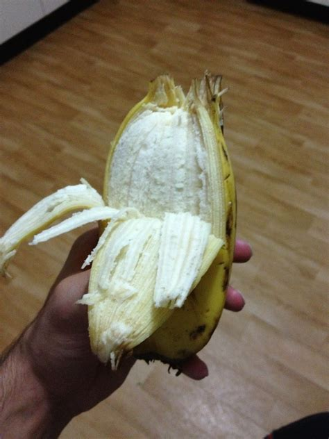 Oh Banana am i late for deformed fruit oh hell here is a banana