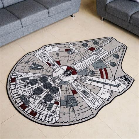 aspace rug the millennium falcon rug a space fleet beneath your technabob