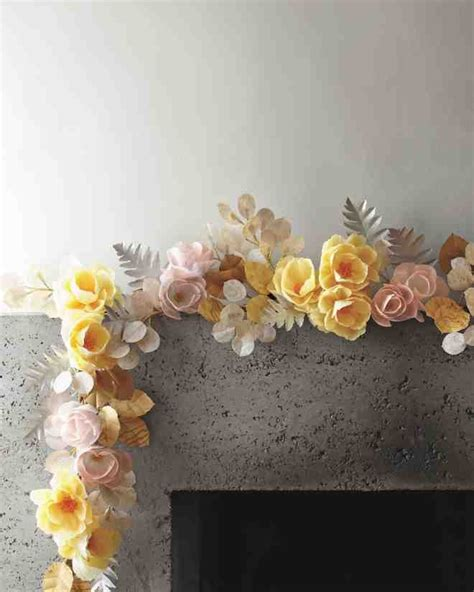 How To Make Paper Flower Garland - 25 best ideas about paper flower garlands on