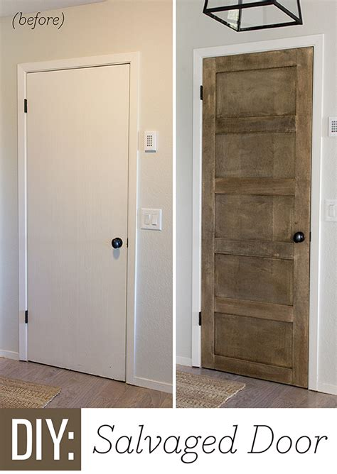 Diy Interior Doors Remodelaholic 5 Panel Door From A Flat Hollow Door