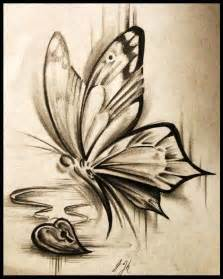 Tattoo Butterfly Sketches | the butterfly sketch by kingsart 1 on deviantart