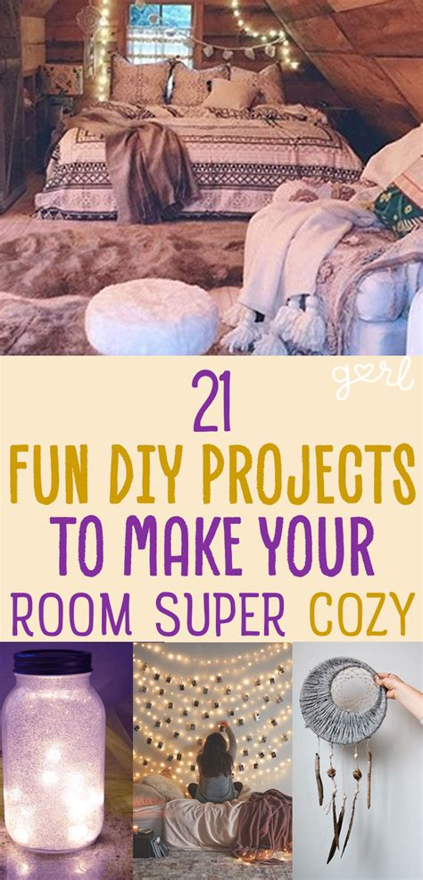how to make your bedroom more cozy 21 fun diy projects that will make your bedroom more cozy