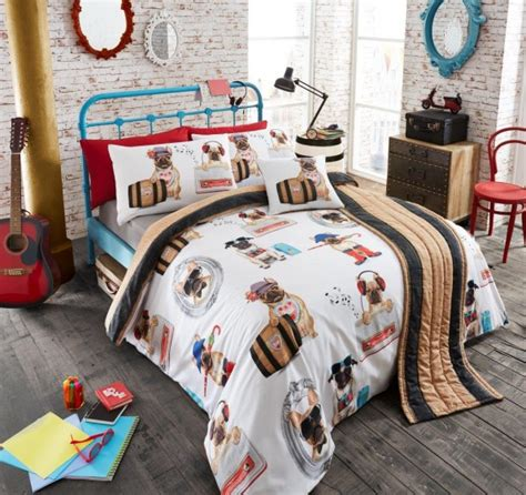duvet bed in a bag sets bed in a bag 5pc bedding duvet quilt cover set pug fashion