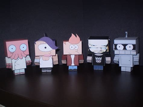 Futurama Papercraft - futurama cubee s pic by cyberdrone on deviantart