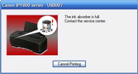 reset canon ip1980 ink absorber full pengertian printer