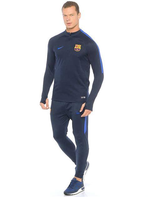 Jumper Barca Half Zipper Barcelona barcelona nike tracksuit navy drill half zip 2016 17 ebay