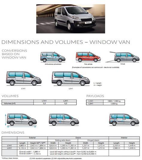 peugeot expert dimensions recommended innolift model for peugeot expert van
