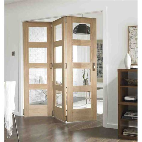 interior room divider doors oak shaker 4 light divider