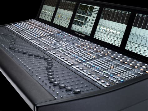 broadcast mixing console inter bee 2011 preview displaying solid state logic japan