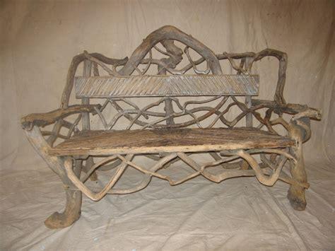 twig bench american twig garden bench