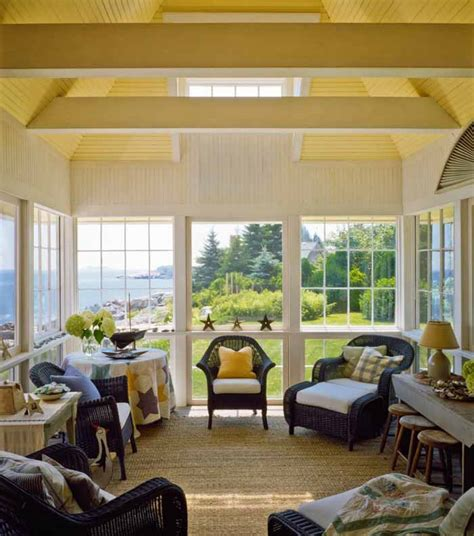 3 season porches cottage with a fabulous 3 season screened porch