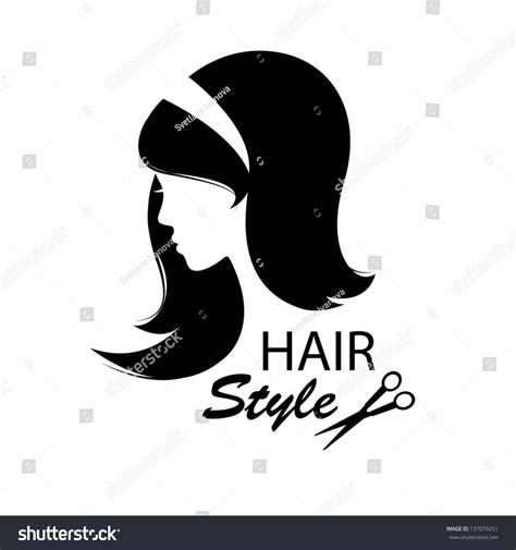 Hairstyle Tools Designs For Silhouette by Design Elements Barber Shop Hairstyle Stock Vector