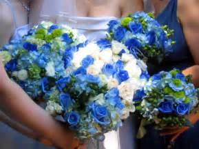 blue wedding flowers flowers land blue wedding flowers