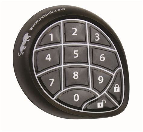 keyless entry system w keypad and remote for 5th wheels