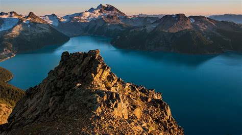 wallpaper panorama ridge landscape garibaldi park