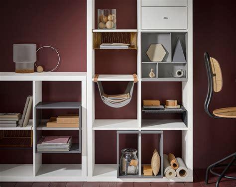 Ikea Kallax Unit Rak Putih siri kallax ikea