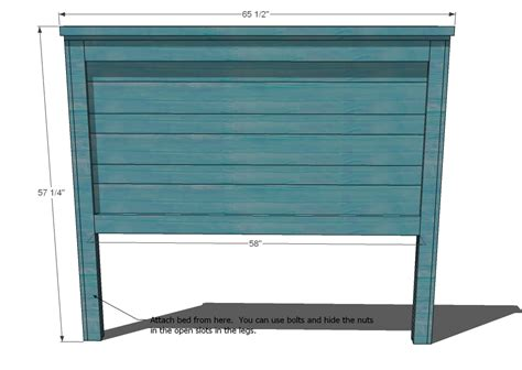 Woodworking Plans How To Make A Headboard For A Queen Size