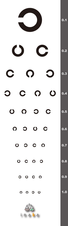 printable landolt c eye chart images of 視力検査表 japaneseclass jp