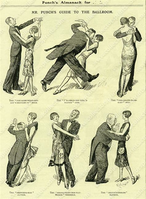 vintage dance party guide to the ballroom vintage dancing cartoon from punch