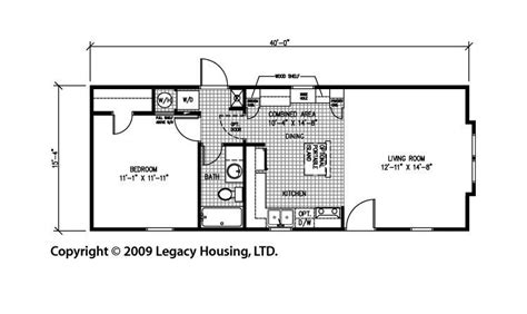 one bedroom mobile home floor plans pictures for legacy mobile homes dealer in tyler texas in