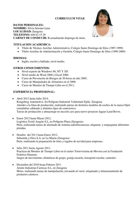 Modelo De Curriculum Vitae Peru Ministerio De Trabajo Curr 237 Culum Vitae Compacto Curr 237 Culum Entrevista Trabajo