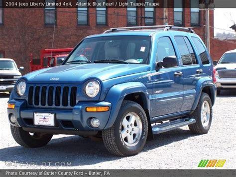 2004 jeep liberty light atlantic blue pearl 2004 jeep liberty limited 4x4