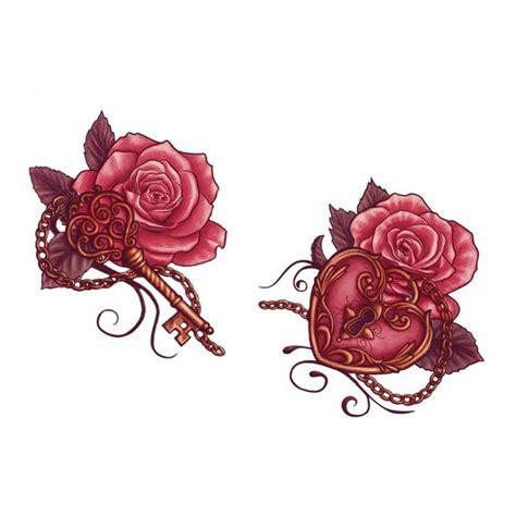 meaning of cadenas in french tatouages temporaires deux roses avec une cl 233 et un cadenas