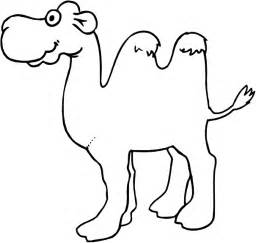 camel coloring sheet camel coloring pages coloringpages1001