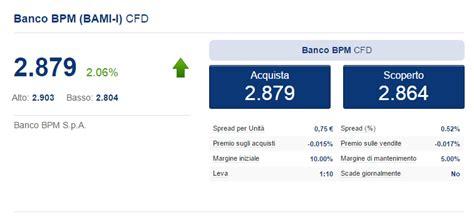 Azioni Banco Popolare Tempo Reale by Azioni Banco Bpm Bami Mi Quotazione E Grafico In Tempo