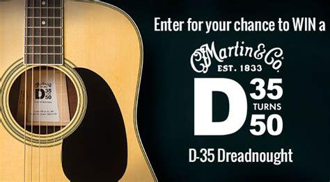 Guitar Giveaway Contest - martin yamaha esp guitar contests
