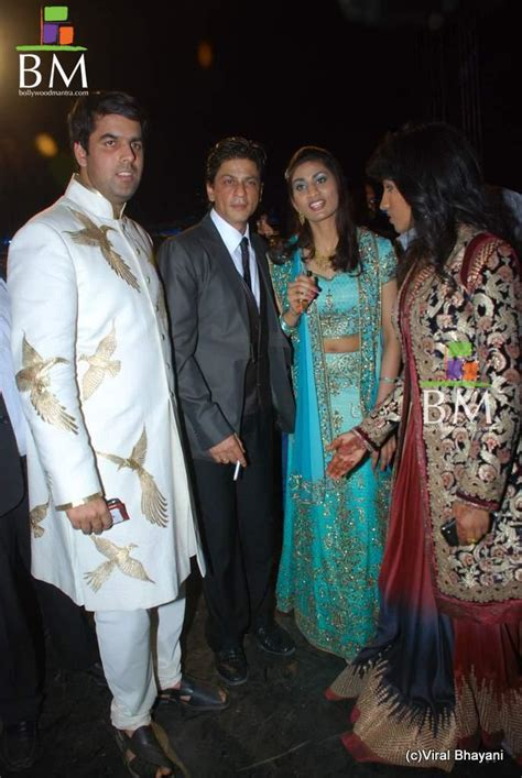 shahrukh khan wedding album www shahrukh khan saurabh dhoot s wedding reception photo 741