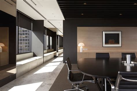 interior office designs meeting area of simple but professional office interior