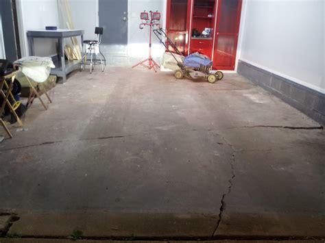 repair hairline cracks garage floor