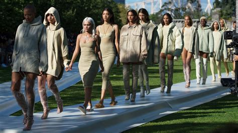 Fashion Week Kayne 2 by Kanye S Yeezy Season 4 Show Gets Blistering Reviews Cnn