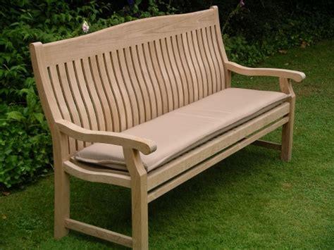 5 ft bench cushion teak garden furniture 5 foot bench cushion bedrock