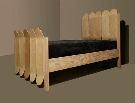 skateboard bed 14 cool skateboard inspired furniture designs part 2