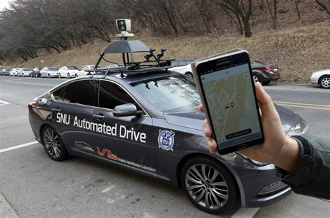 self driving car self driving cars taxi service in testing in south