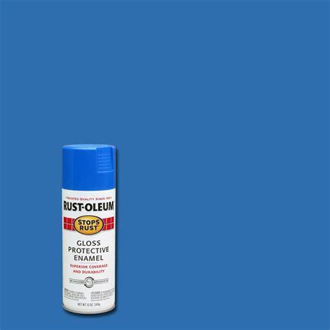 spray paint specification rust oleum stops rust 12 oz protective enamel gloss sail