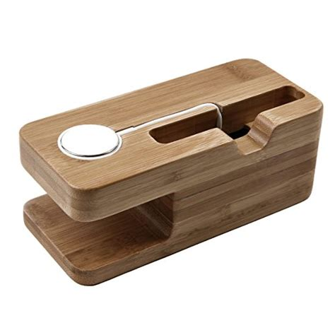 Stand Charger Smartphone Charging Dock Premium Apple apple stand oittm premium 2 in 1 bamboo charging