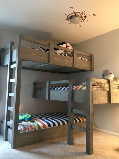 3 bed bunk beds best 25 triple bunk beds ideas on pinterest triple bunk 3 bunk beds and triple bed