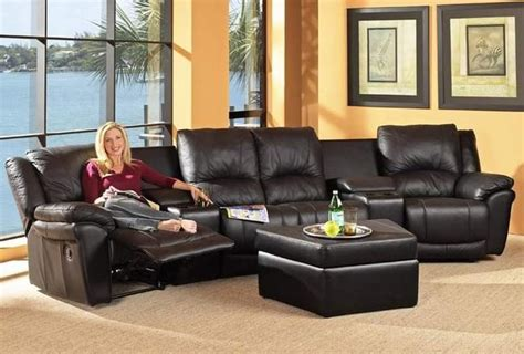 Home Theatre Sofas by Coaster Sofas And Sectionals 7575 7576 Promenade Home